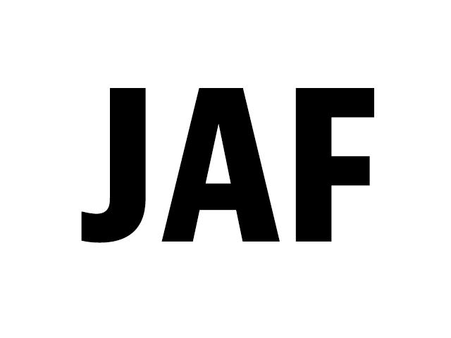 2015 11 13 JAF logo FontStand