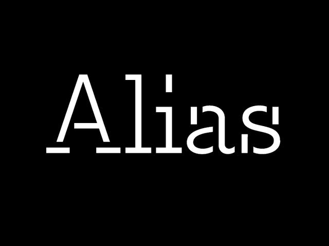 Alias 1 BLACK
