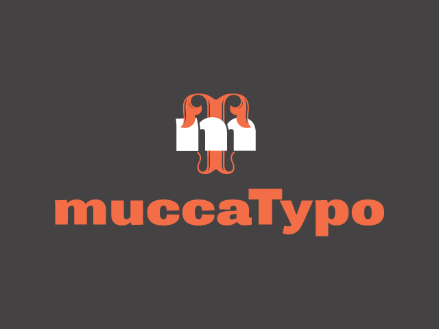 MuccaTypo Fontstand logo color