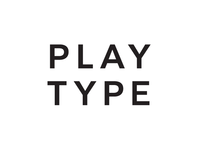 Playtype Stacked White 640x480px