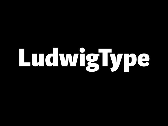 ludwigtype logo